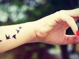 mini tatuagens