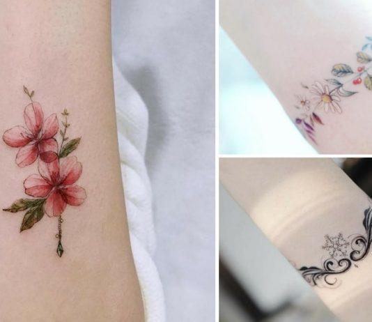 Tatuagens delicadas braços