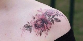 Tatuagens no ombro