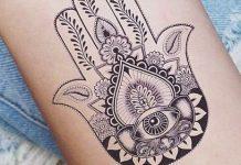 Tatuagens Hamsa
