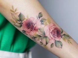 Tatuagens delicadas nos Braços