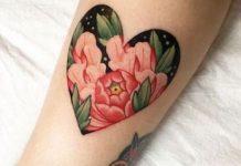 Tatuagens de corações