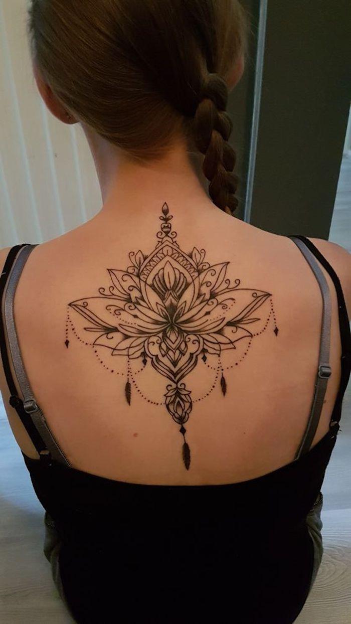 Tatuagems Flor De Lotus Costas 7 123 Tatuagens